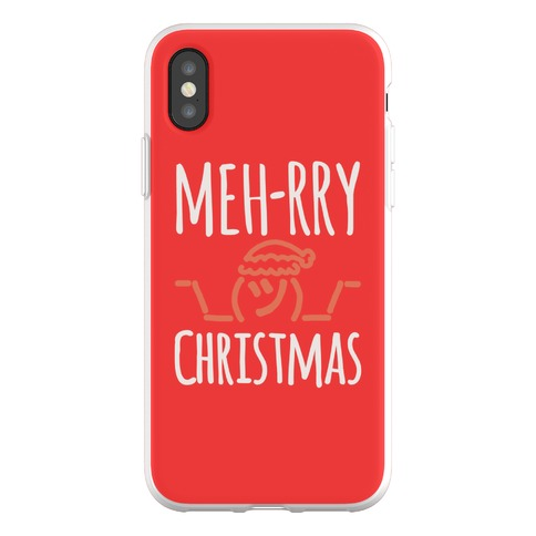 Meh-rry Christmas Parody Phone Flexi-Case