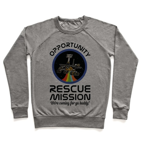 Opportunity Rescue Mission (Mars Rover) Pullover