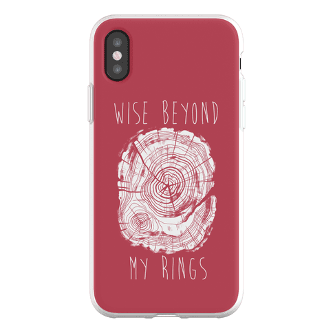 Wise Beyond My Rings Phone Flexi-Case