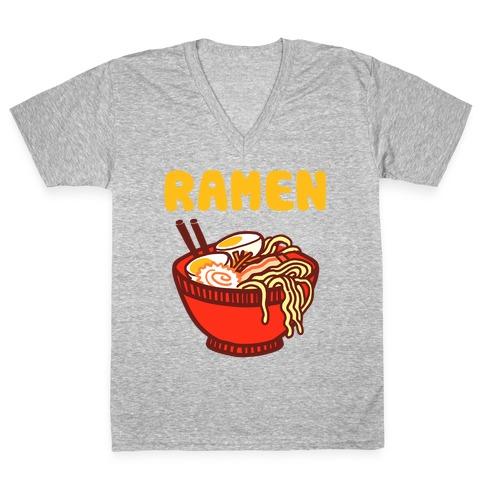Ramen V-Neck Tee Shirt