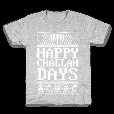 Happy Challah Days Kids T-Shirt