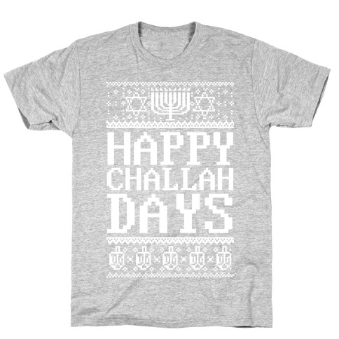 Happy Challah Days Mens T-Shirt