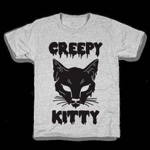 Creepy Kitty Kids T-Shirt