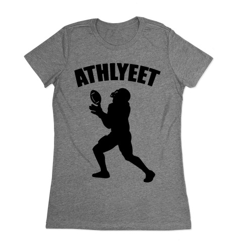 Athlyeet Football Womens T-Shirt