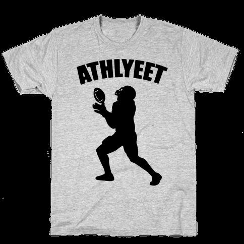 Athlyeet Football Mens/Unisex T-Shirt