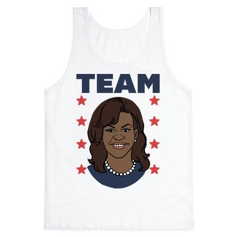 Tag Team Barack & Michelle Obama 2 Tank Top