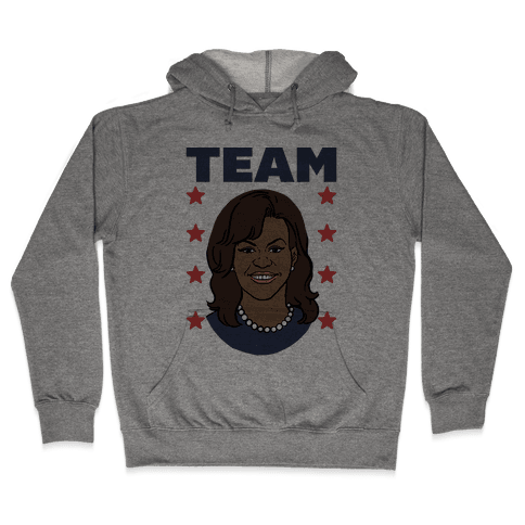 Tag Team Barack & Michelle Obama 2 Hooded Sweatshirt
