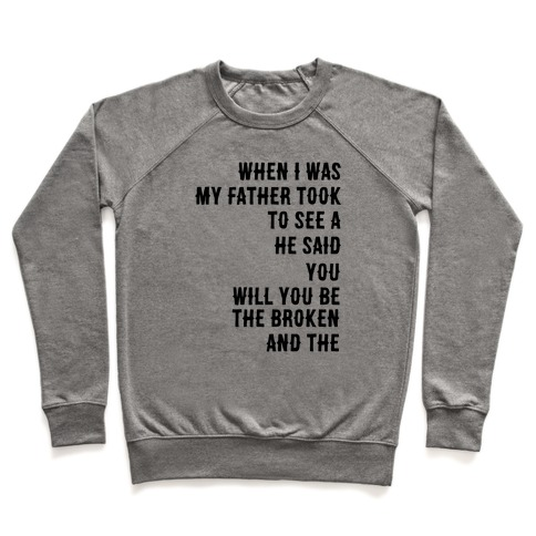 When I Was a Young Boy (1 of 2 pair) Pullover