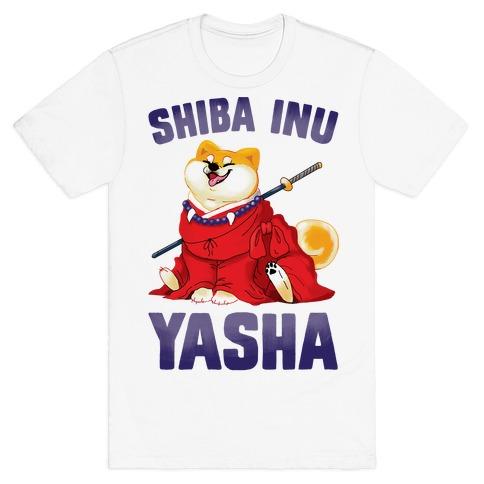 af6ddd7f524d Shiba InuYasha T-Shirt