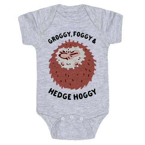 Groggy, Foggy & Hedge Hoggy Baby Onesy