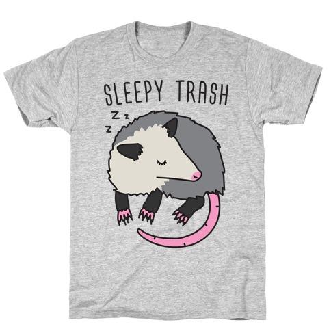 Sleepy Trash Opossum T-Shirt