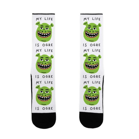 My Life Is Ogre Sock