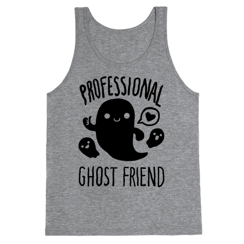 Professional Ghost Friend Tank Top