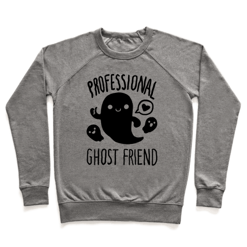 Professional Ghost Friend Pullover