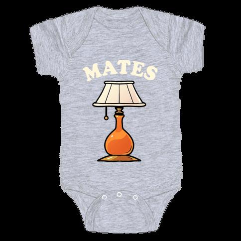 Moth & Lamp Soul Mates (2 of 2) Baby Onesy
