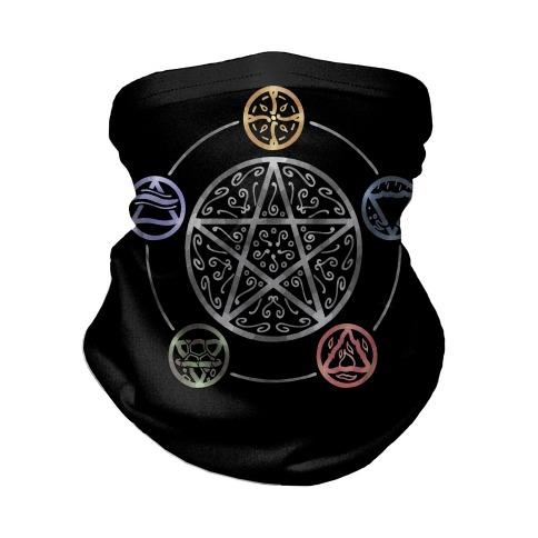 Witch's Elements In Balance Neck Gaiter