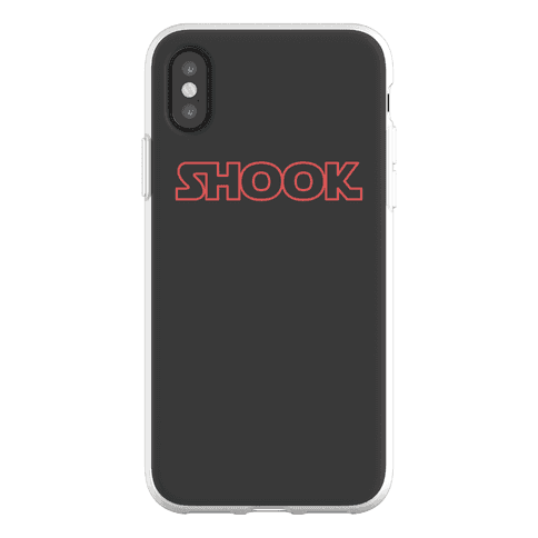 Shook Parody Phone Flexi-Case