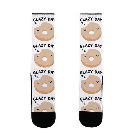 Glazy Day Donut Sock