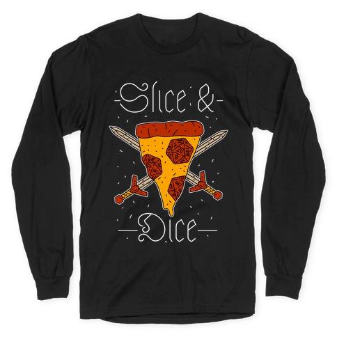 Slice & Dice Long Sleeve T-Shirt