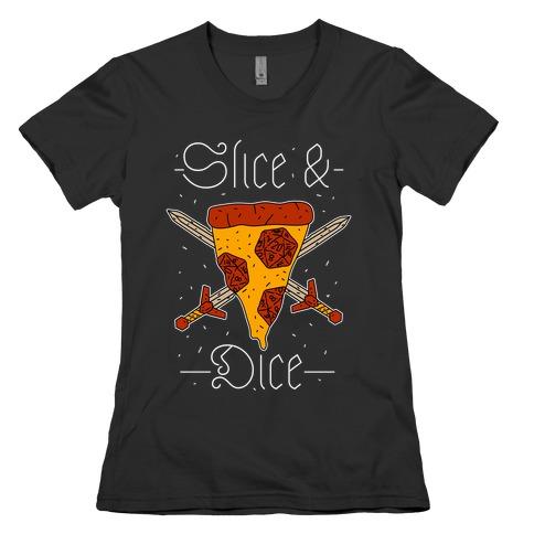 Slice & Dice  Womens T-Shirt