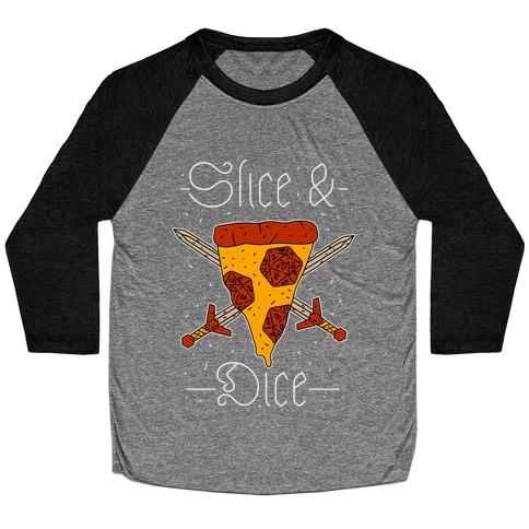 Slice & Dice Baseball Tee