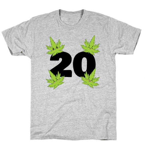 4 Leaves And #20 Mens/Unisex T-Shirt