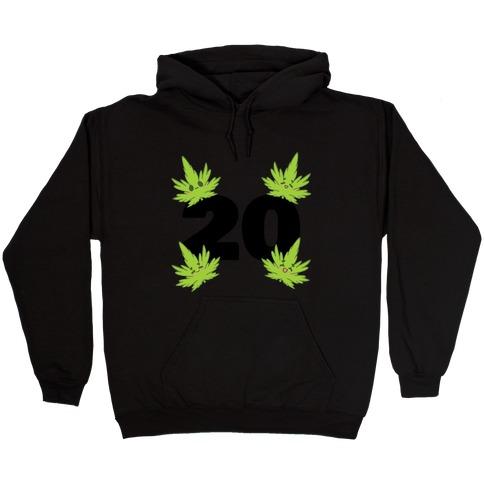 4 Leaves And #20 Hooded Sweatshirt