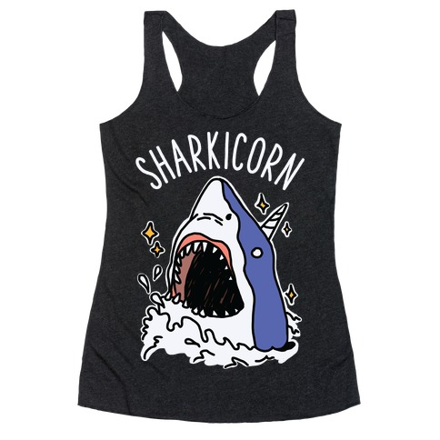 Sharkicorn Racerback Tank Top