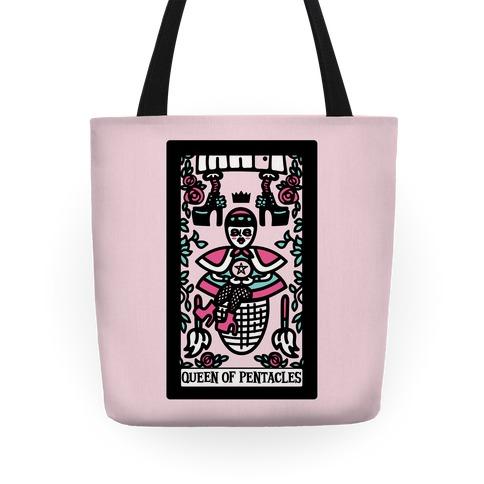 Creepy Cute Tarot: Queen of Pentacles Baba Yaga Tote