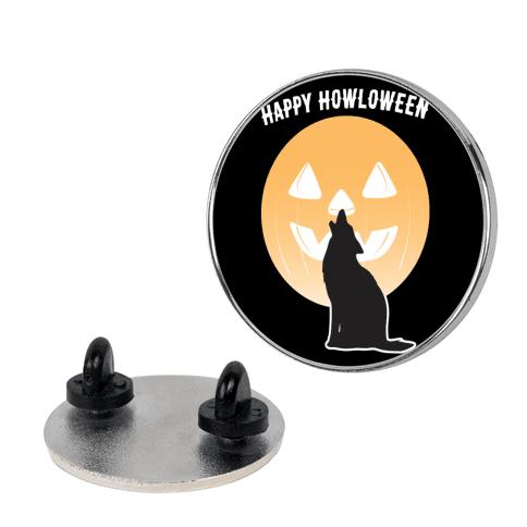 Happy Howloween Pin