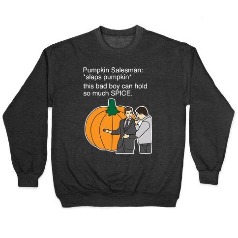 Pumpkin Salesman Pullover