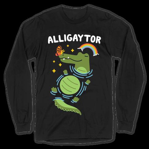 Alligaytor (Gay Alligator) Long Sleeve T-Shirt