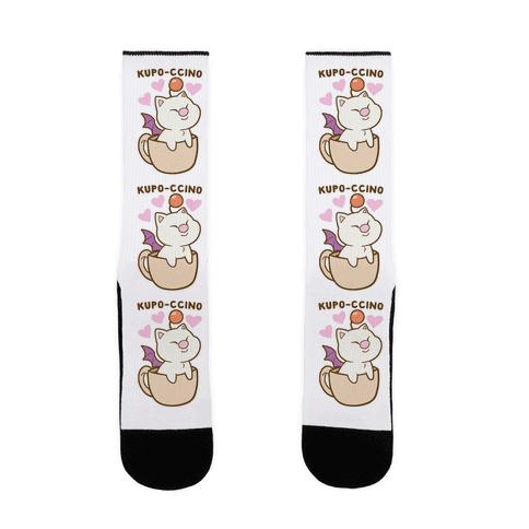 Kupo-ccino - Moogle Sock
