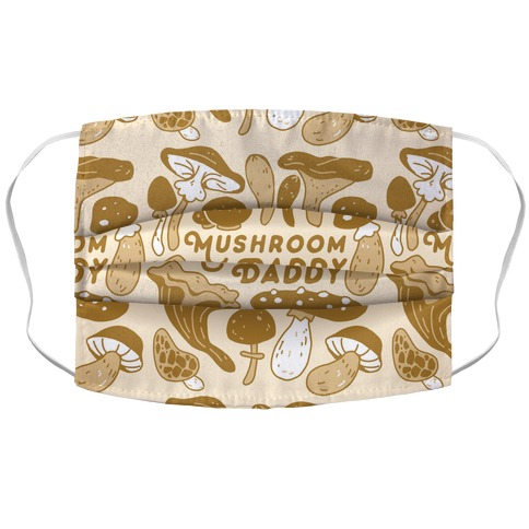 Mushroom Daddy Accordion Face Mask