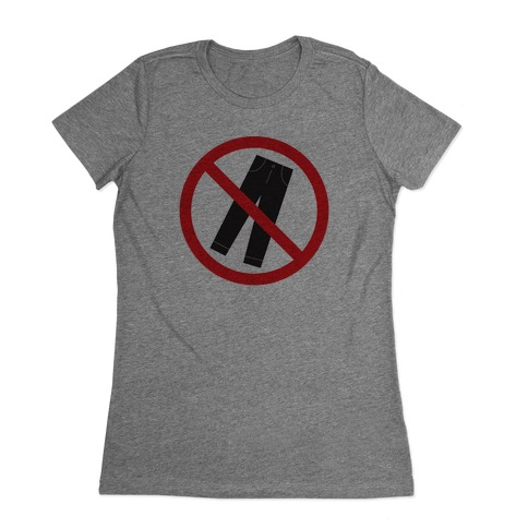 Pants Are Cancelled Womens T-Shirt