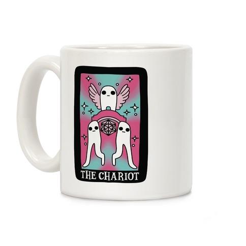 Creepy Cute Tarot : The Chariot Fresno Nightcrawler Coffee Mug
