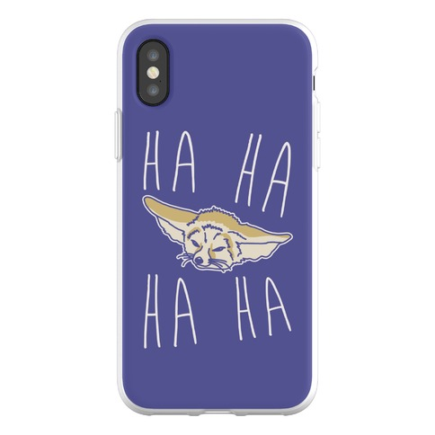 Fenneko's Laugh Parody Phone Flexi-Case