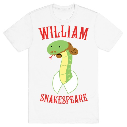 William Snakespeare T-Shirt