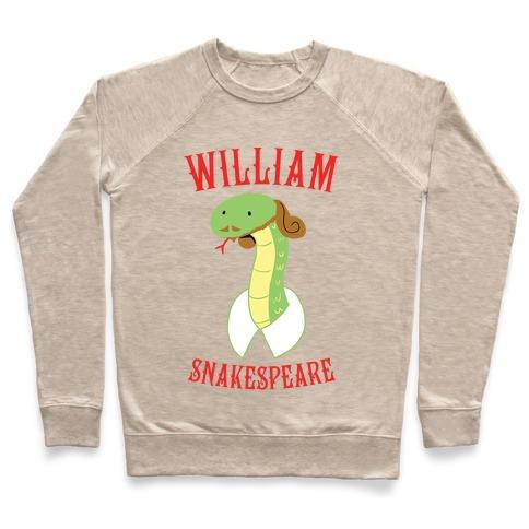 William Snakespeare Pullover
