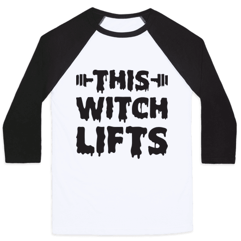 This Witch Lifts Baseball Tee