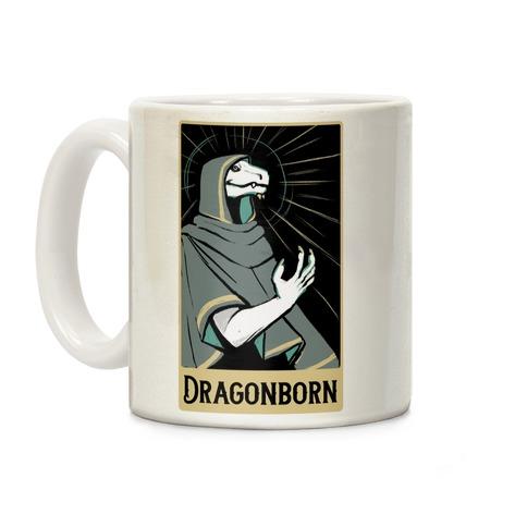 Dragonborn - Dungeons and Dragons Coffee Mug