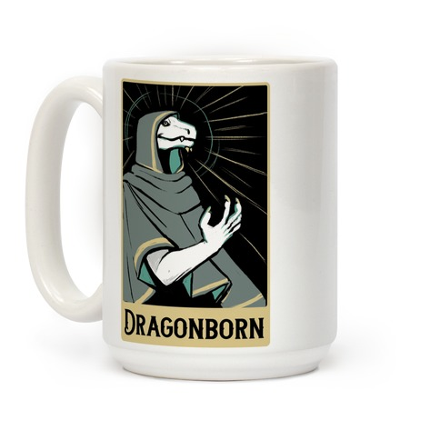 Dragonborn - Dungeons and Dragons Coffee Mug
