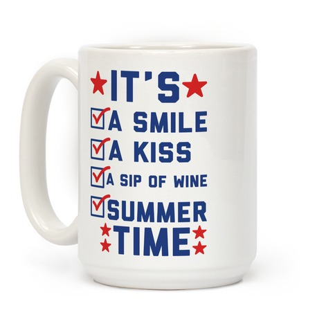 It's Summer Time Coffee Mug