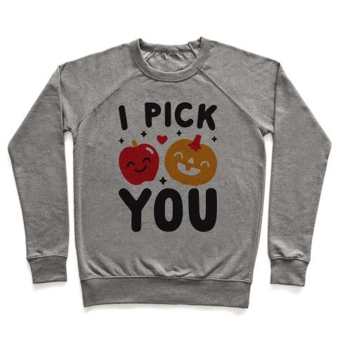 I Pick You Apple & Pumpkin Pullover