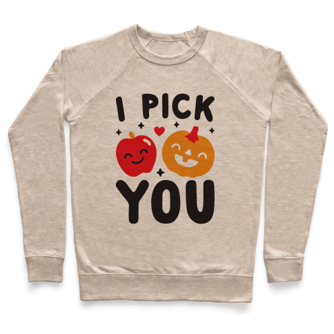 I Pick You Apple & Pumpkin Pullover