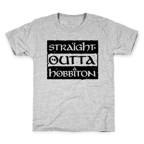 Straight Outta Hobbiton Kids T-Shirt