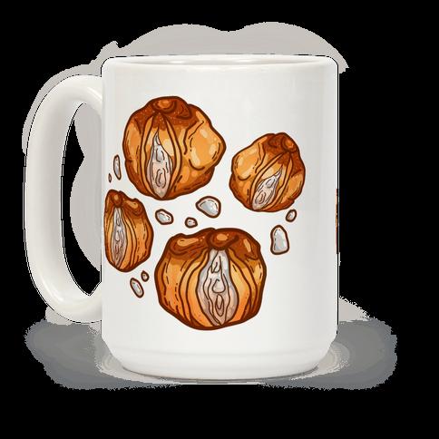 Cream Puff Vaginas Coffee Mug