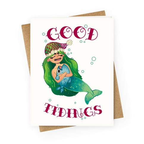 Good Tidings Greeting Card