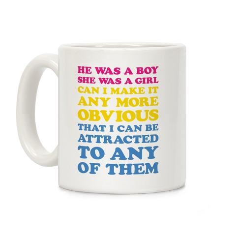 Sk8er Boi Pansexual Parody Coffee Mug