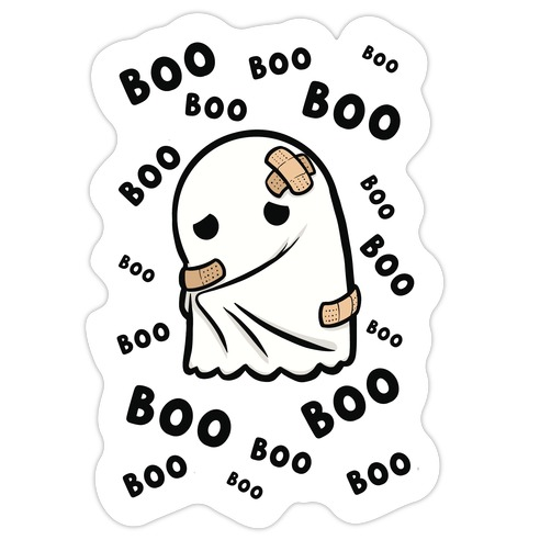 Boo Boos Die Cut Sticker
